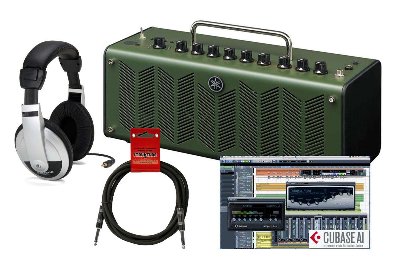 Yamaha thr10x high gain stereo amp bundle green for Yamaha thr10x specs