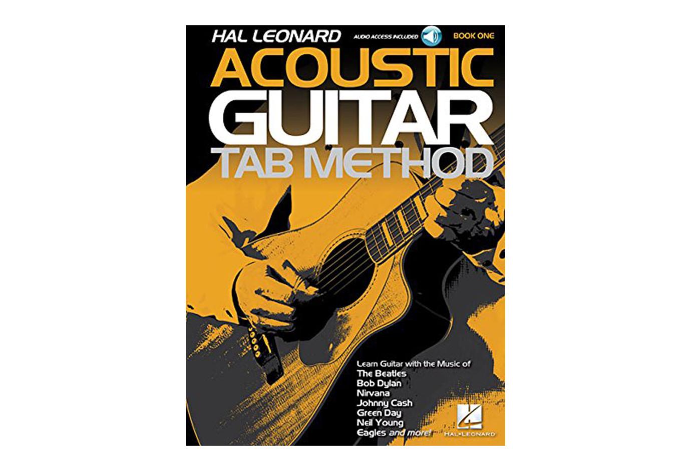 hal leonard acoustic guitar tab method book one. Black Bedroom Furniture Sets. Home Design Ideas