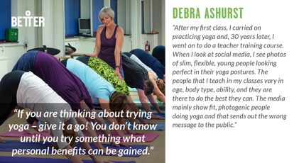 Debra Ashurst Yoga teacher