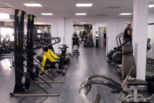 Facilities At Windrush Leisure Centre Witney West
