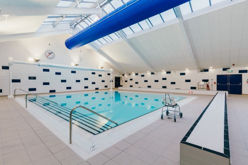 The new teaching pool at Higbury Leisure Centre