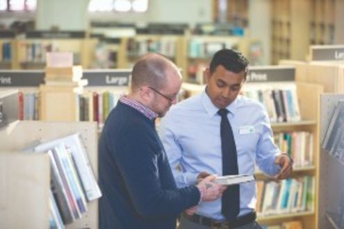 Better libraries in London