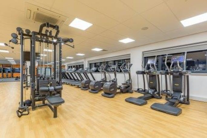 Exercise machines at the gym in Eastern Leisure Centre