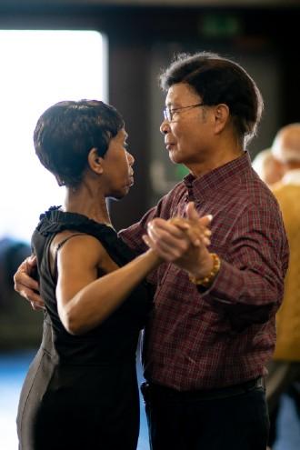 Social dance partner dancing