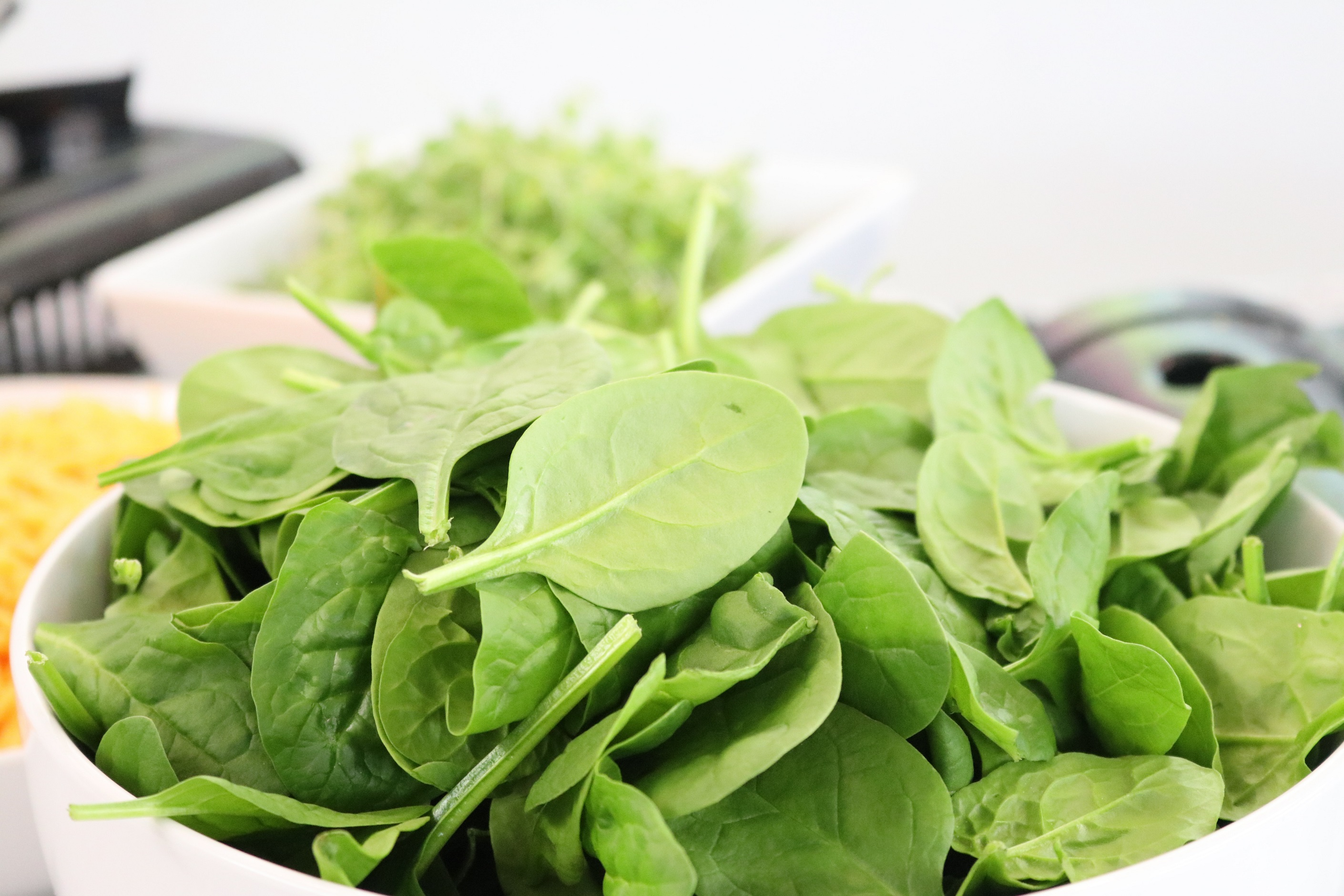 Bowl of spinach 2325843