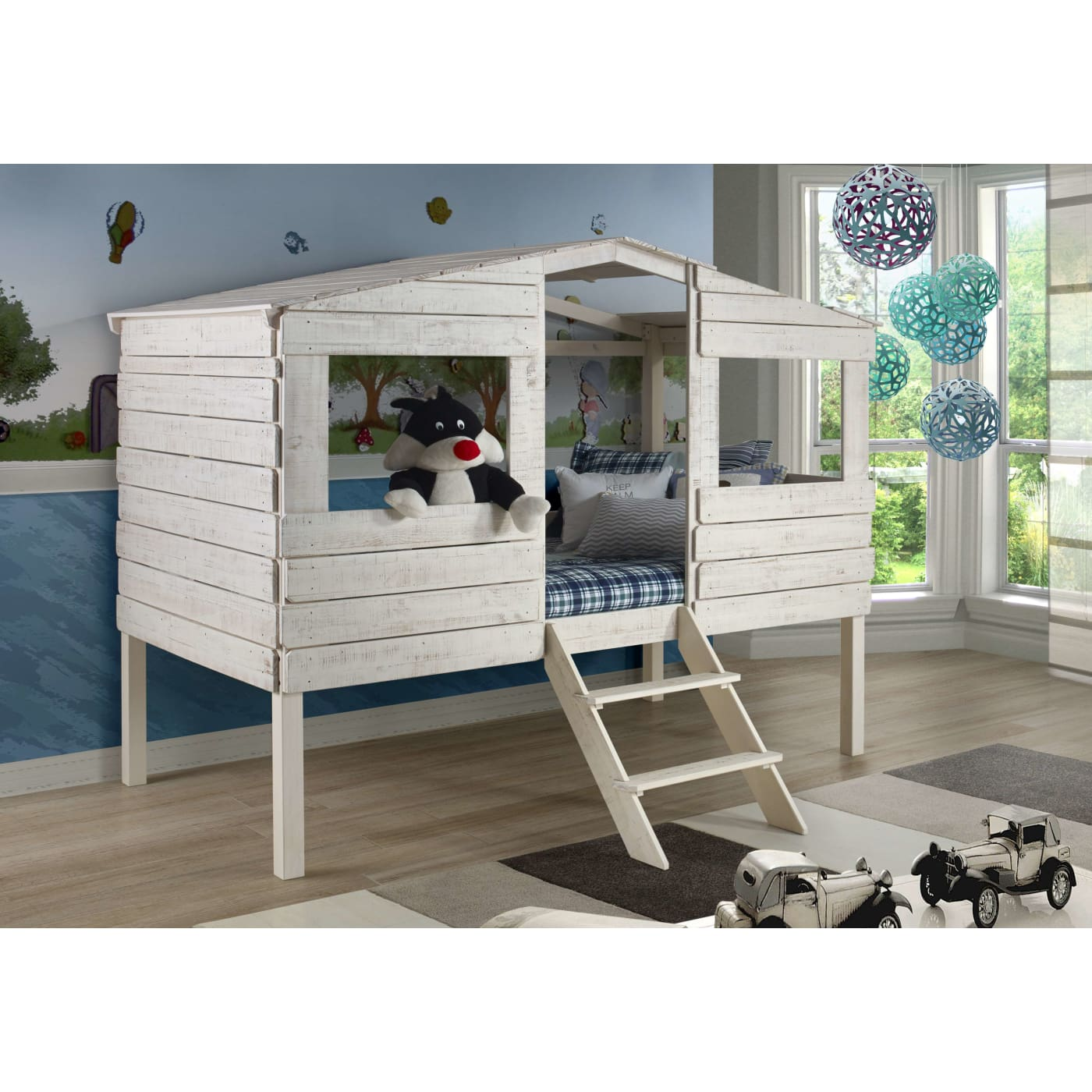 Donco Trading Company Tree House Loft Bed