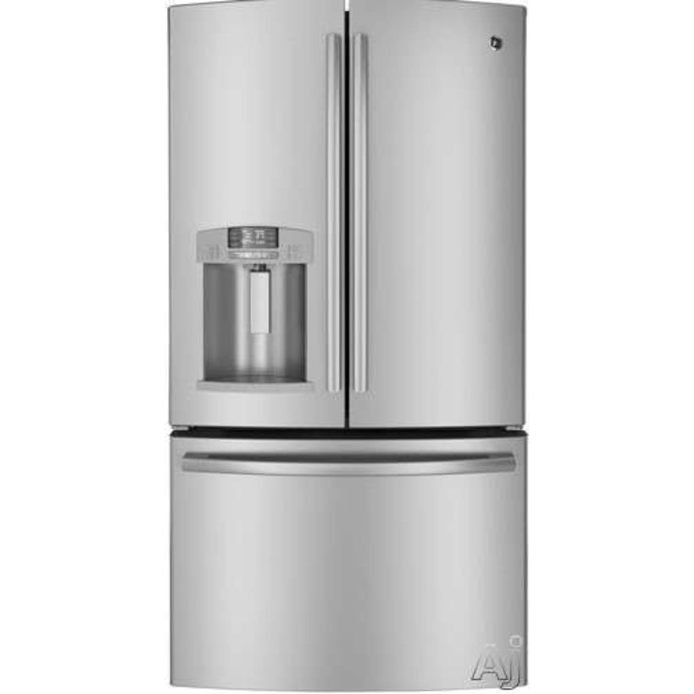 Stainless Steel French Door Refrigerator  Energy Star Ge Gfe27Gsdss