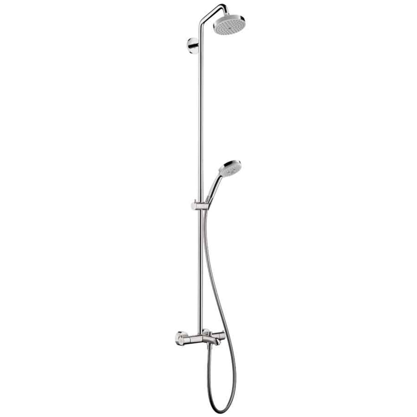 Hansgrohe Croma Shower System 27143001 Chrome - Goedekers.com