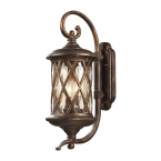Elk Barrington Gate Hazlenut Bronze 2-Light Outdoor Sconce