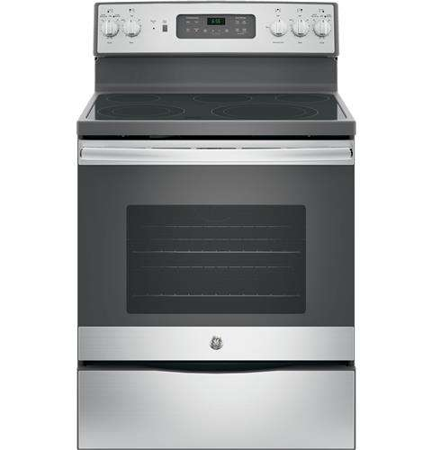 """30"""" Stainless Steel Electric Smoothtop Range - Convection"""