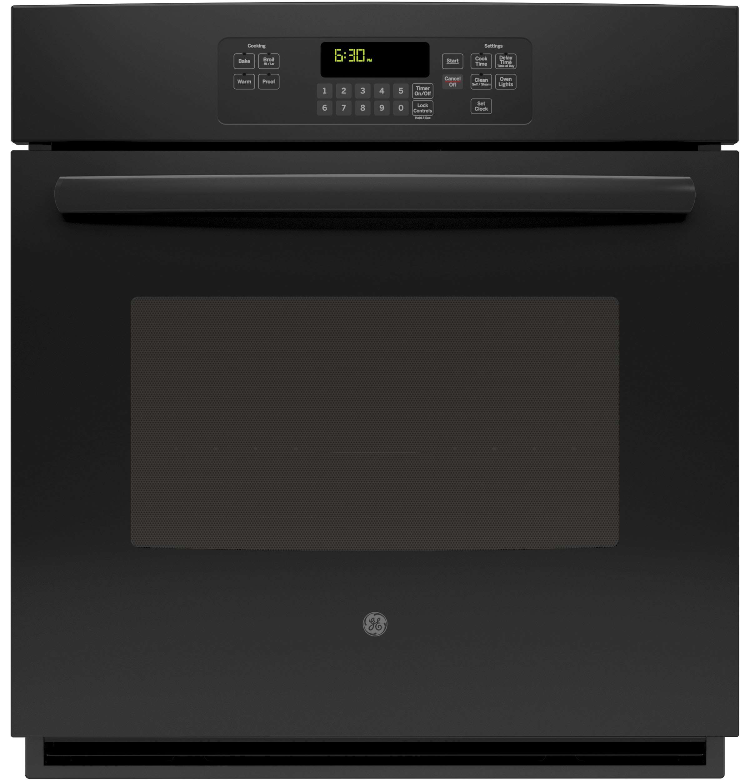 """27"""" Black Electric Single Wall Oven"""