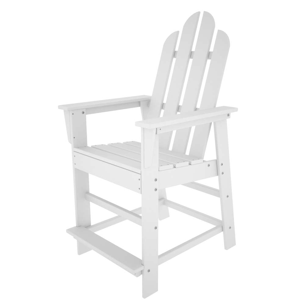 Long Island White Counter Chair