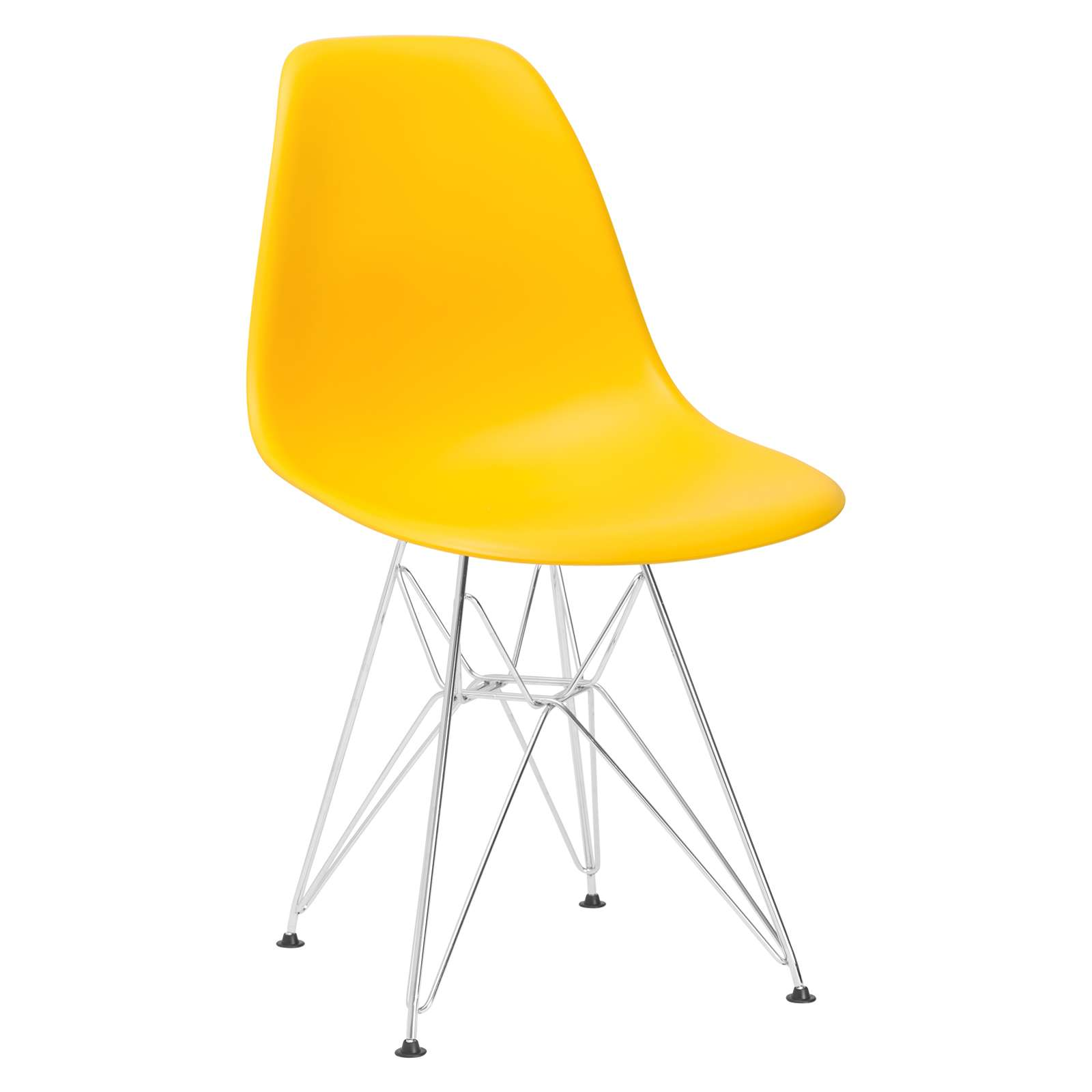 Padget Side Chair in Yellow - Set of 2