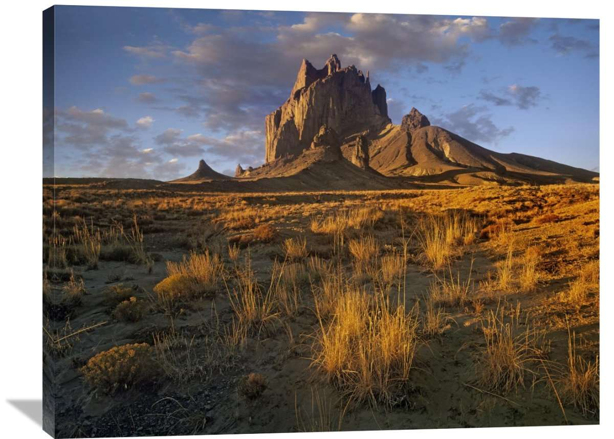 Shiprock, The Basalt Core Of An Extinct Volcano, New Mexico