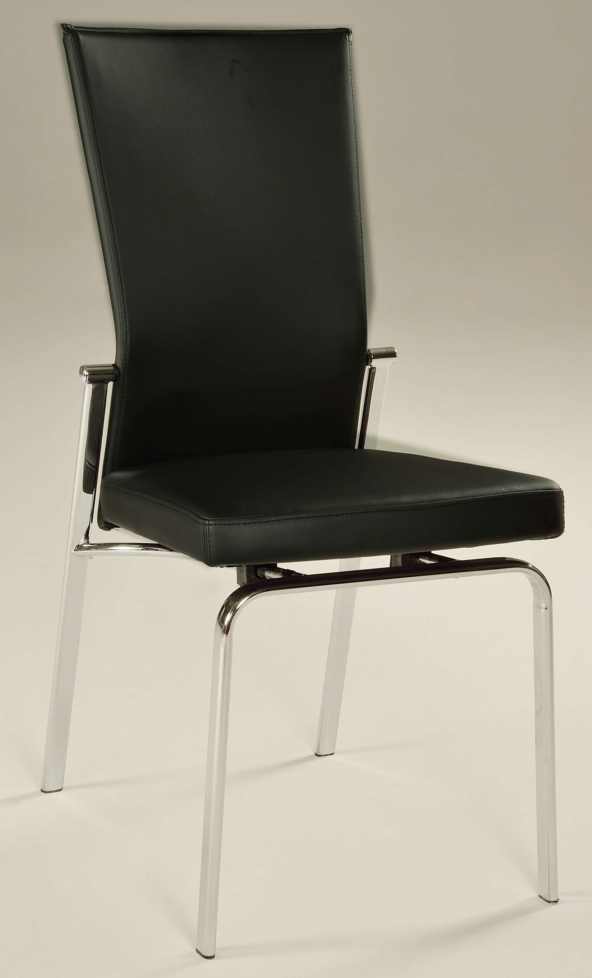 Molly Motion Back Side Chair in Black - Set of 2
