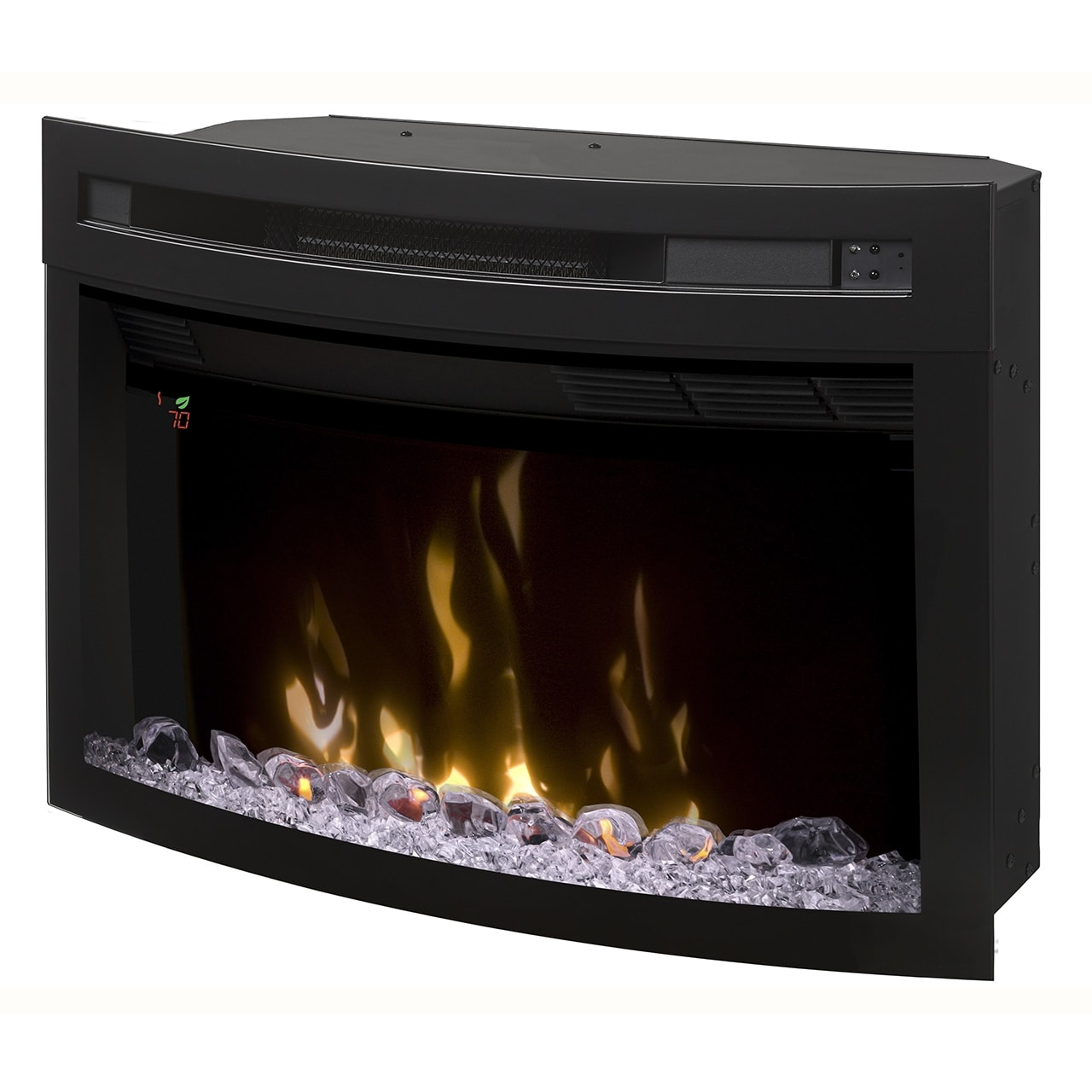 """Multi-Fire XD 25"""" Electric Firebox Insert with Curved Glass Front"""