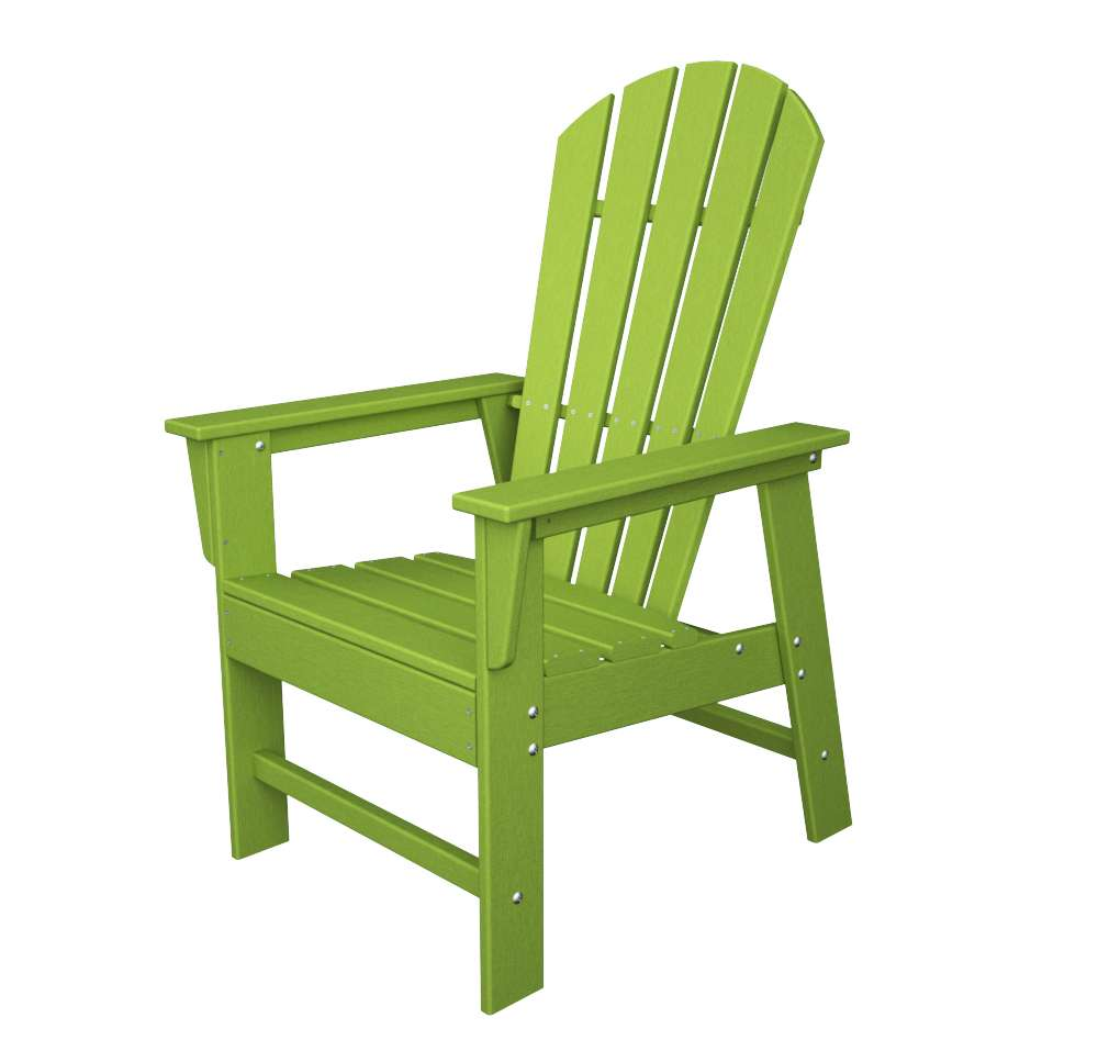 South Beach Lime Outdoor Dining Chair