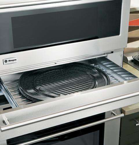 """Advantium 30"""" Stainless Steel Electric Wall Oven Storage Drawer"""