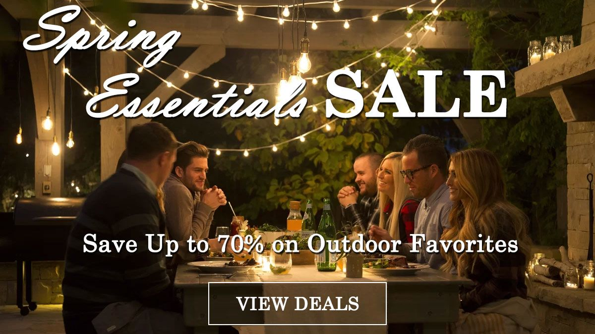 Spring Outdoor Essentials Sale - Save Up to 70%