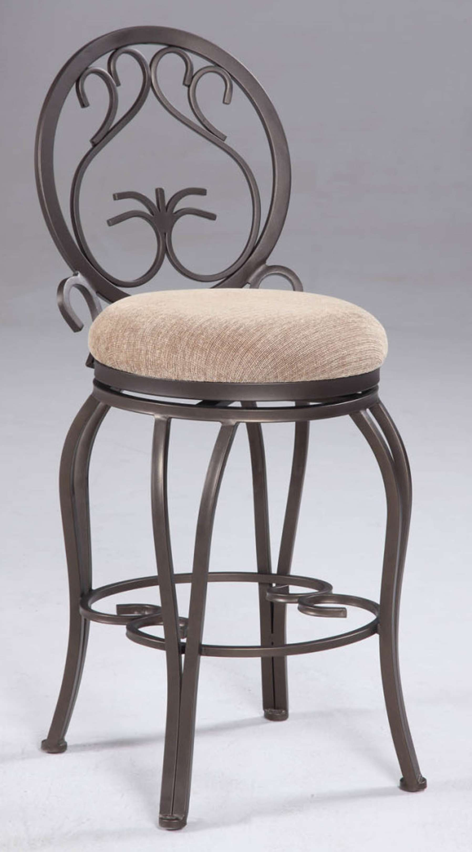 Chintaly Imports 26 Quot Memory Return Swivel Counter Stool