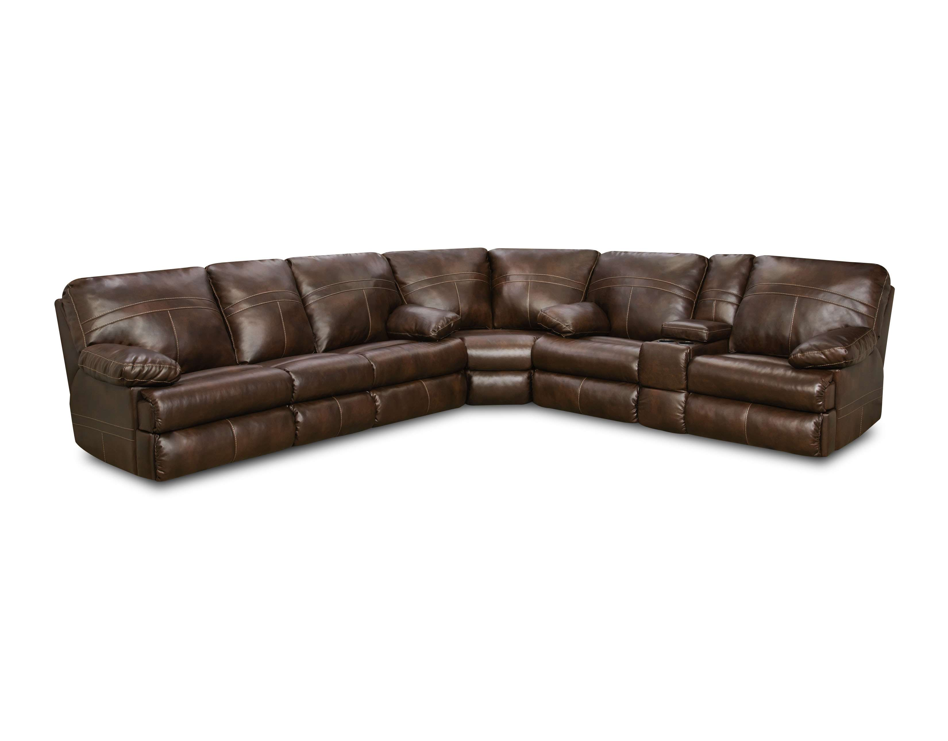 Superbe Miracle Saddle 3 Piece Motion Sectional Sofa