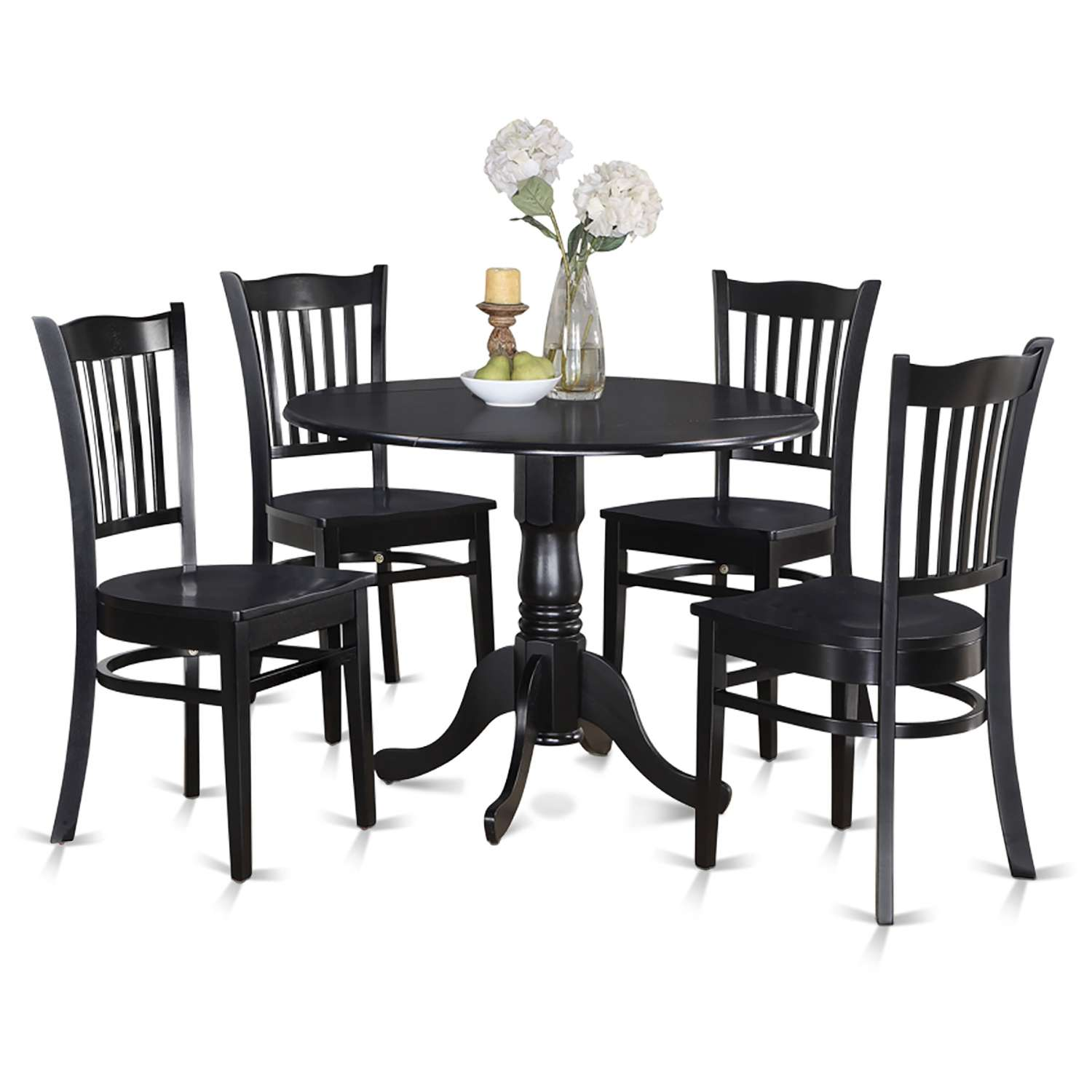Awe Inspiring East West Furniture Dlgr5 Blk W Caraccident5 Cool Chair Designs And Ideas Caraccident5Info
