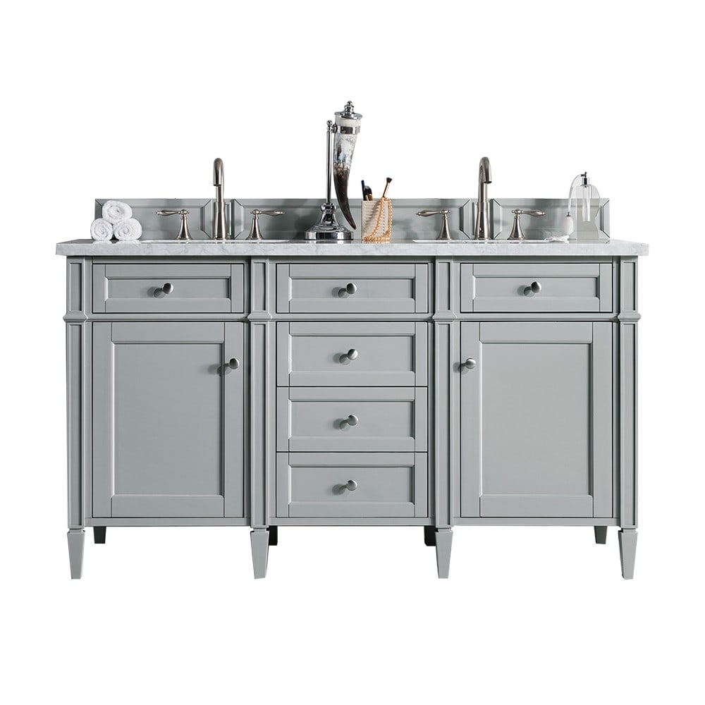 James Martin Brittany Urban Gray 60 Double Vanity Cabinet Reviews
