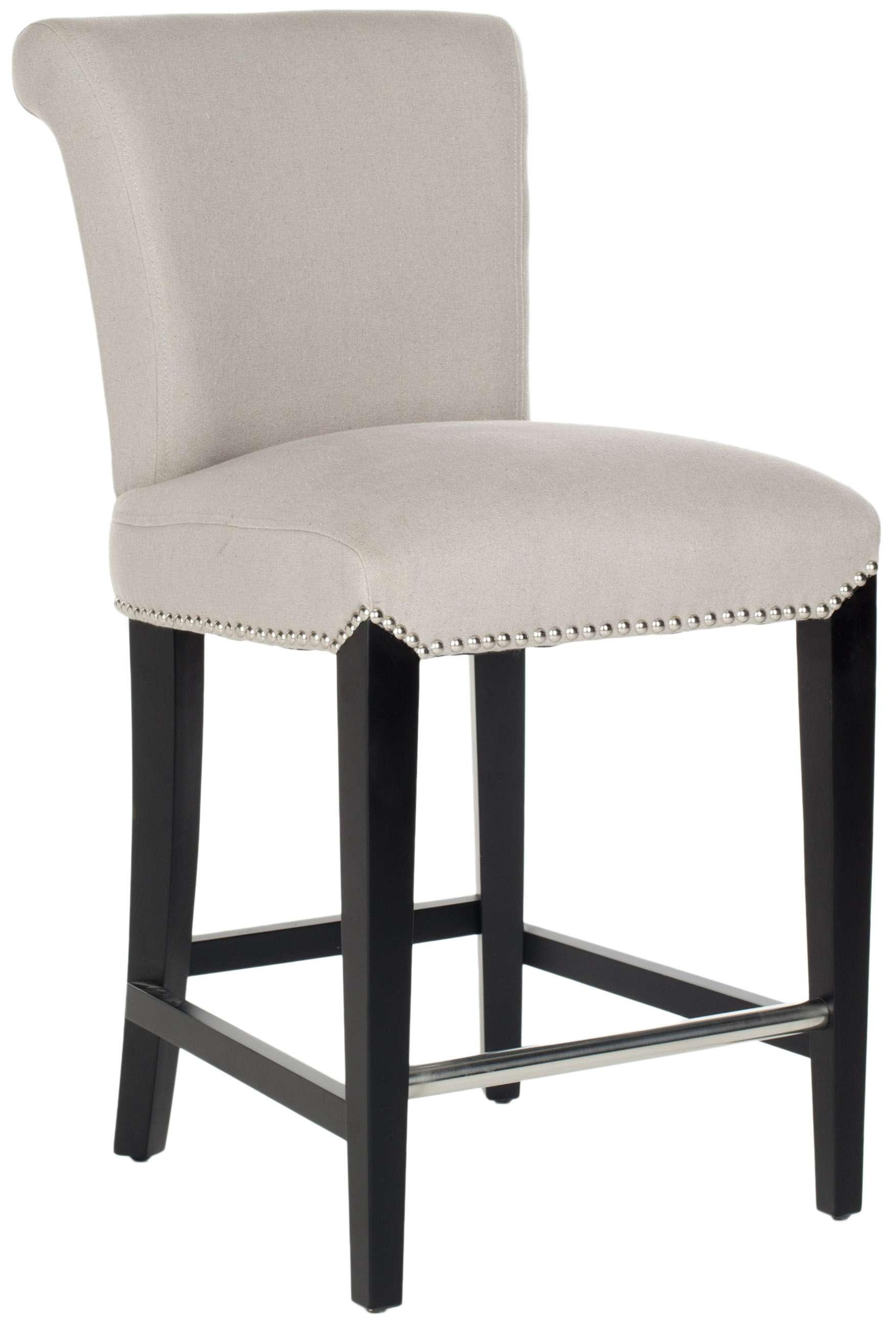Safavieh Seth Taupe Counter Stool Amp Reviews Goedekers Com