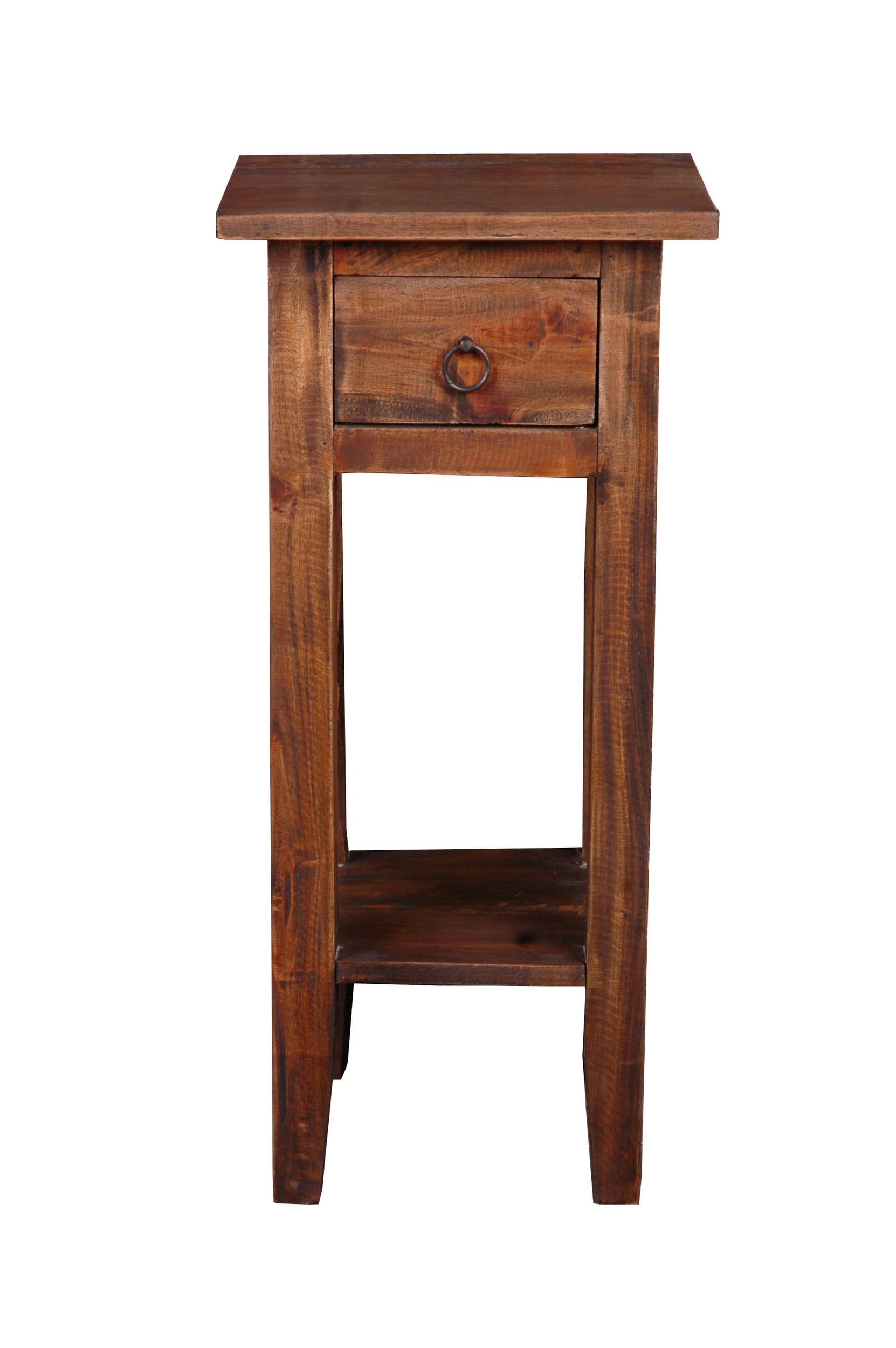 Cottage narrow side table in raftwood