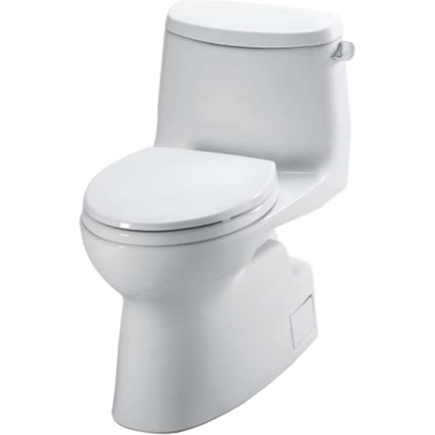Toto Carlyle II Elongated Toilet MS614114CEFRG#01 Cotton White ...
