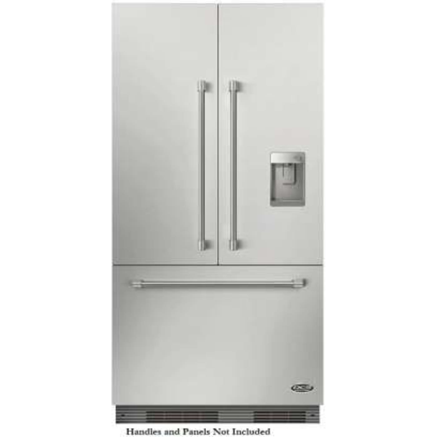 Rs36a72uc1 By Dcs French Door Refrigerators Goedekers Com