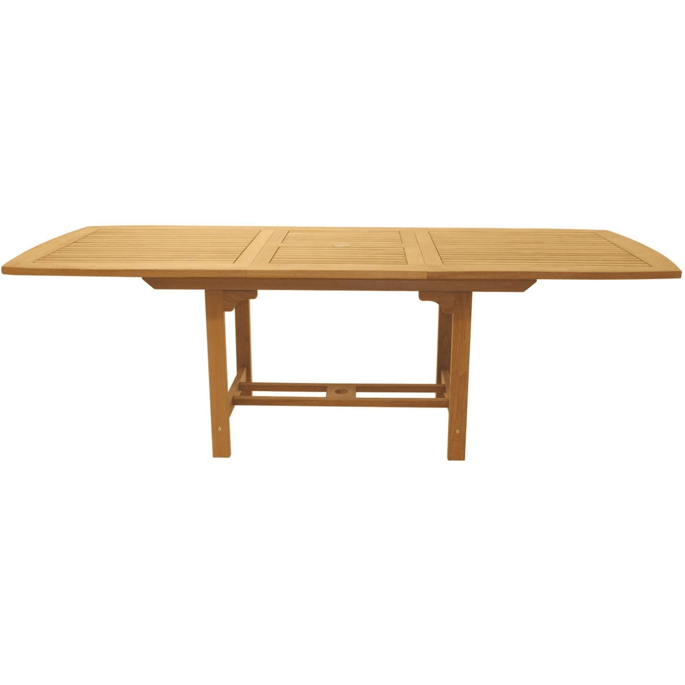 Royal Teak Collection Rectangular Family Expansion Table - Expanding conference table