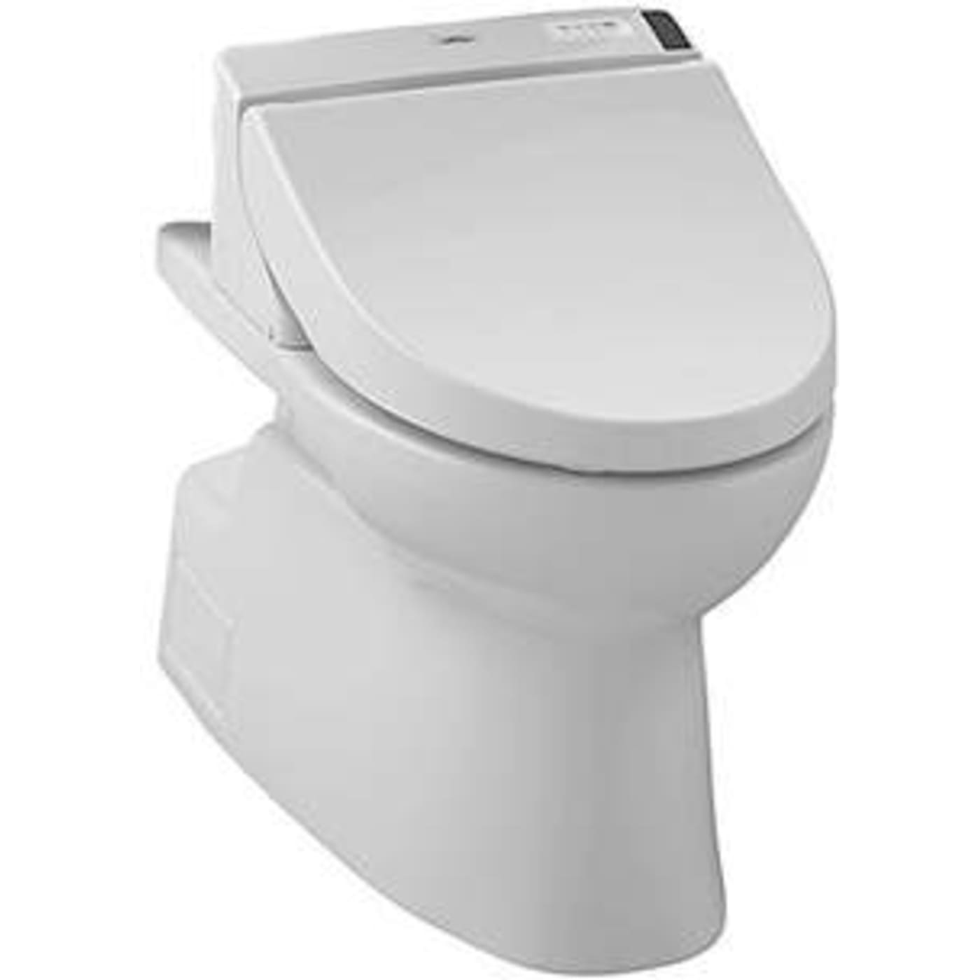 Toto Vespin II Elongated Toilet Bowl CT474CUFGT20#01 Cotton White ...