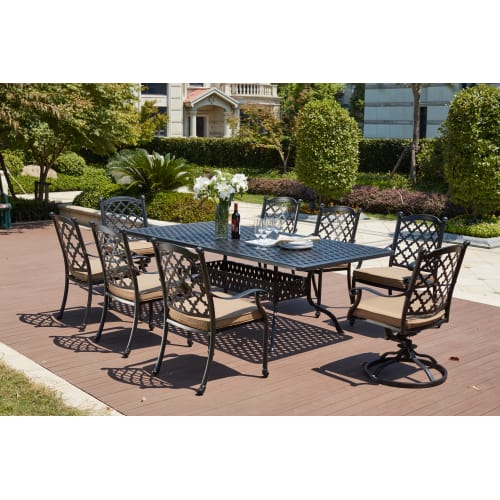 Outstanding Patio Dining Sets Outdoor Table And Chairs Goedekers Download Free Architecture Designs Terchretrmadebymaigaardcom