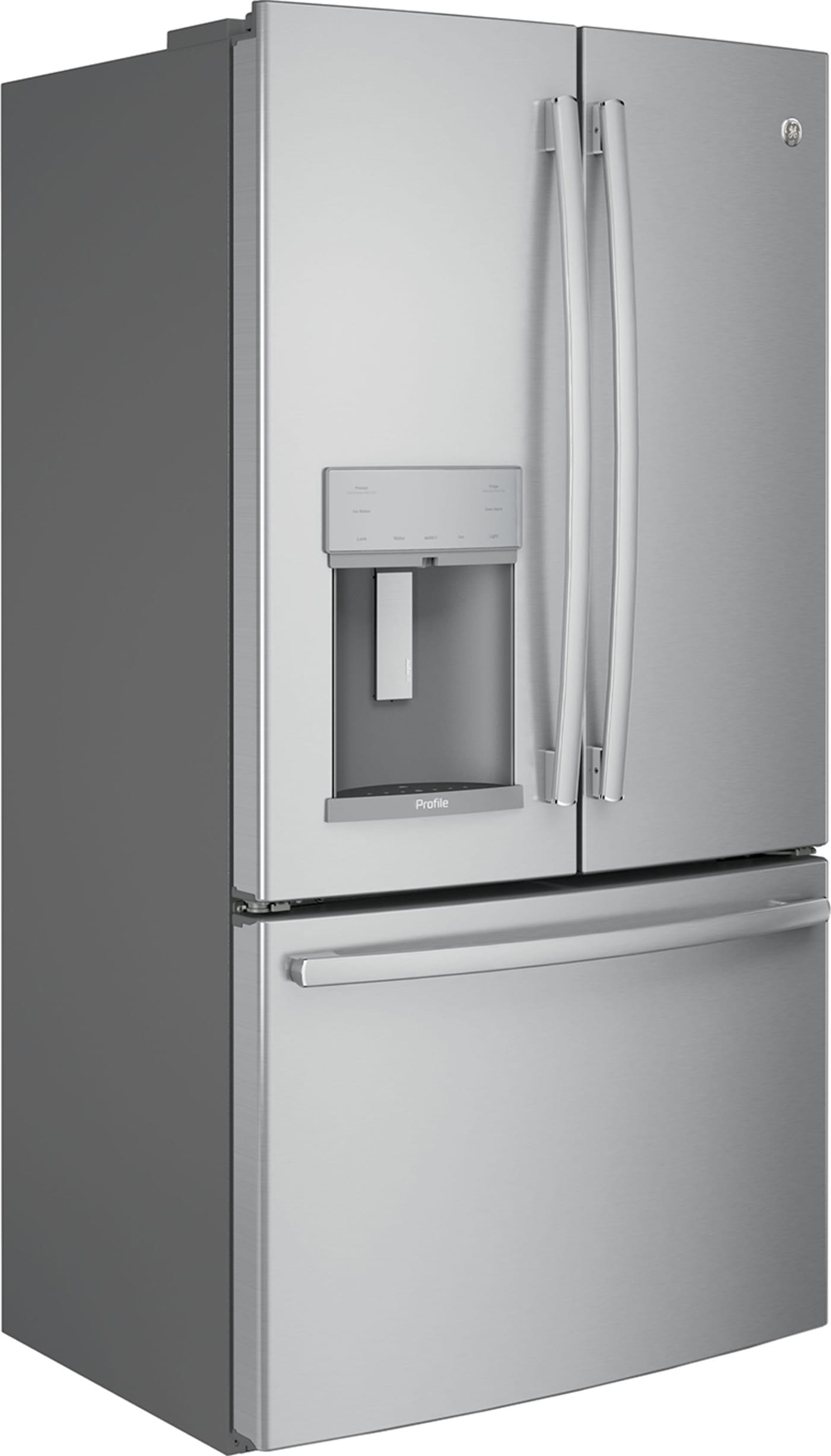 Pfe28kskss By Ge French Door Refrigerators Goedekers Com