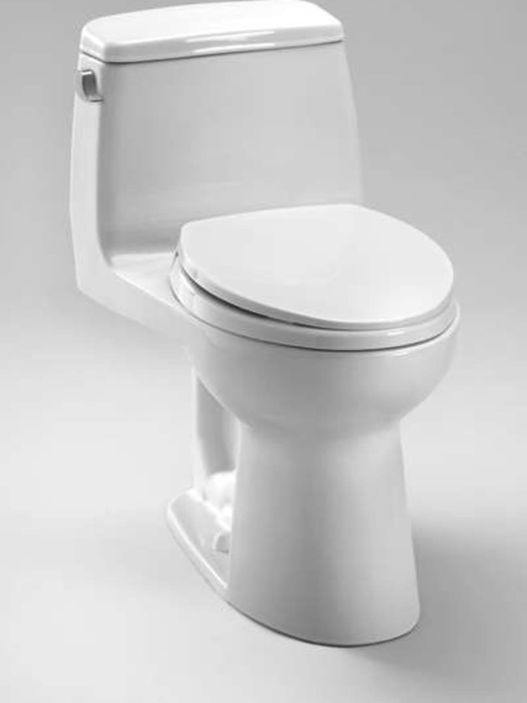 Toto Ultramax Elongated One Piece Toilet MS854114ELR#01 Cotton White ...