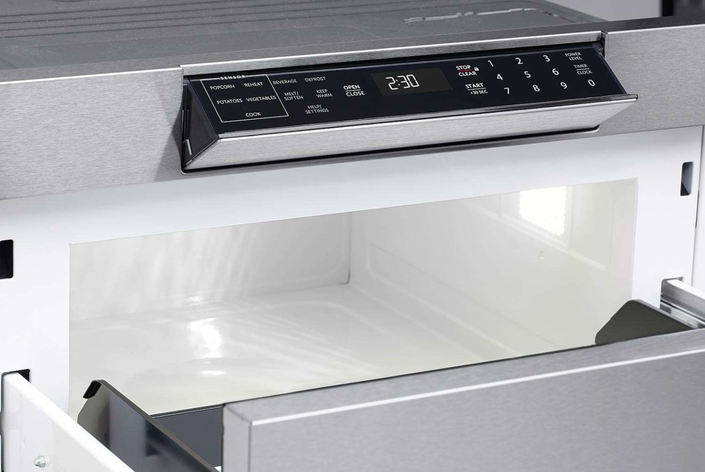 Smd2470asy By Sharp Drawer Microwaves Goedekers Com
