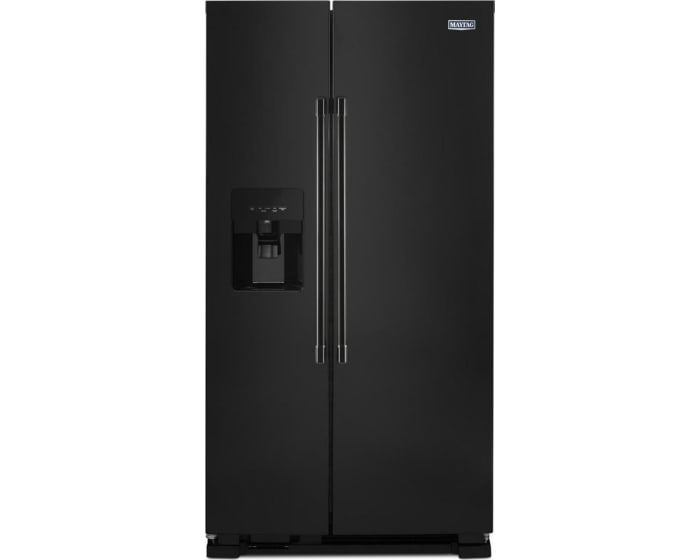 Mss25c4mgb By Maytag Side By Side Refrigerators Goedekers Com