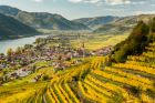 Overhead View of Frassy Wachau Valley