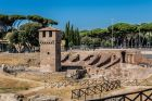 Historic Ruins in Circus Maximus Rome