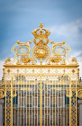 The Gold Gate of the Palais of Versailles