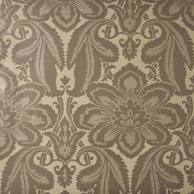 little greene albemarle st wallpaper in gunmetal