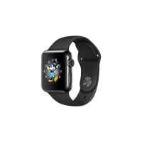 Apple Watch S2 38mm Black Sport Band
