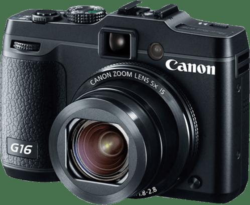 Black Canon PowerShot G16.2