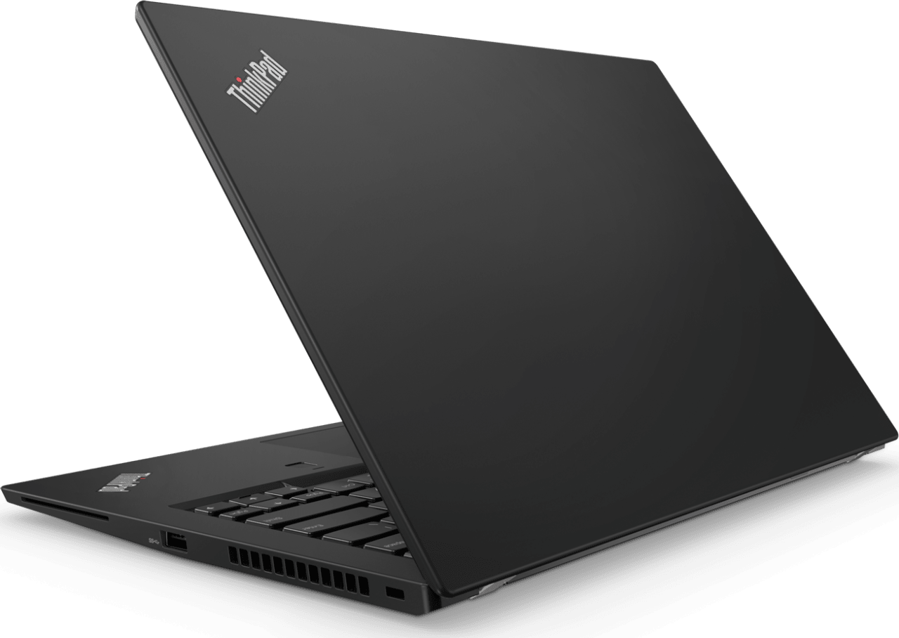 Black Lenovo ThinkPad T480.2