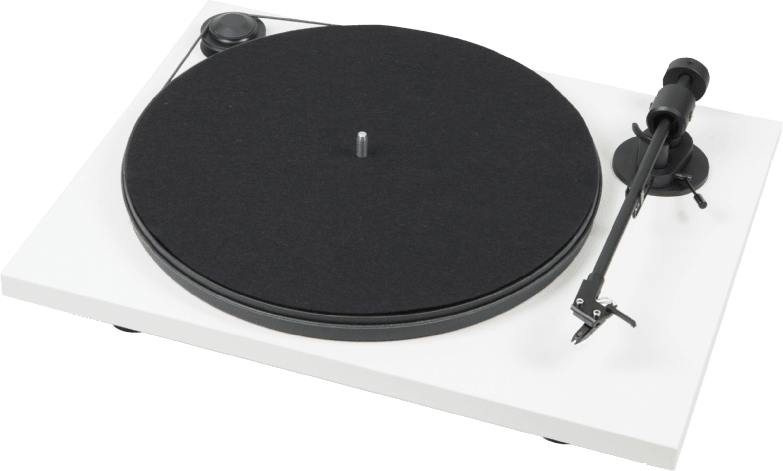White Pro-Ject Primary Turntable.1