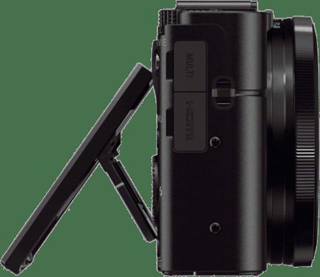Black Sony Cyber-shot DSC- RX 100 III.4