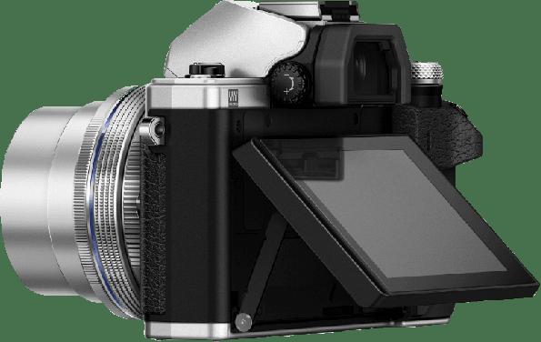 Silver Olympus Camera E-M 10 II M1442 PANCAKE KIT.2