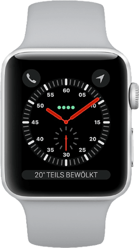 Silber Apple Watch Series 3 GPS, 42mm.2