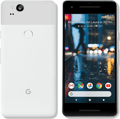 Clearly White Google Pixel 2 64GB.1